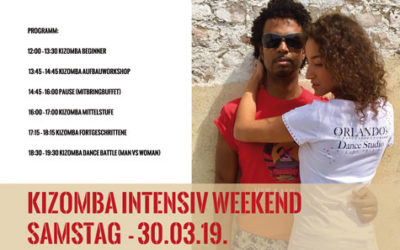 Kizomba Intensiv Weekend + Party 30.03.19