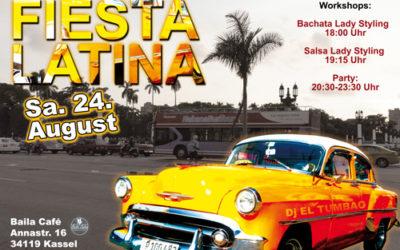 Fiesta Latina Samstag 24. August