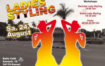 Bachata & Salsa Ladies Styling Workshops – Sa. 24.08.19