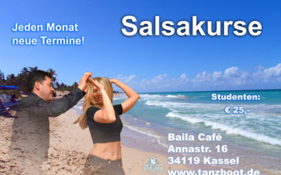 Uni Tanzkurs Studenten Salsa