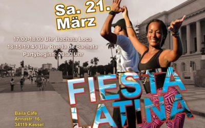 Fiesta Latina Sa. 21.03.20