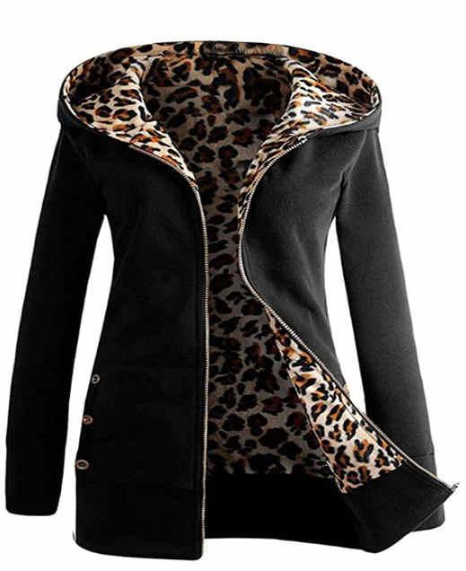 gute leoparden jacke